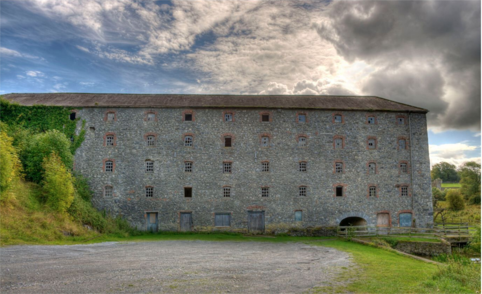 Image of Hutchinsons Mill in Kells.